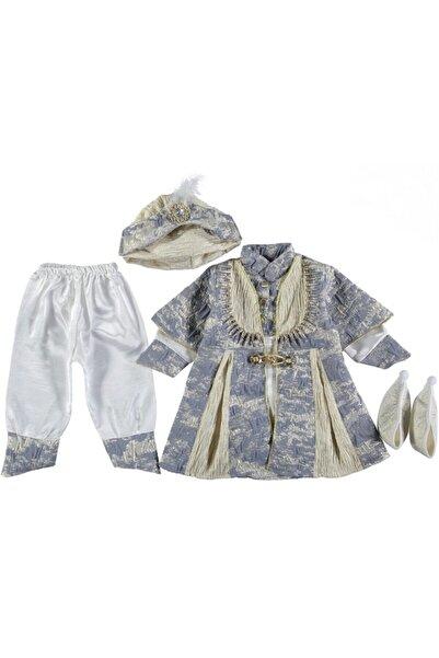 Ponpon Baby Erkek Bebek Mevlüt Takımı Şehzade 3-6-9-12-15 Ay Sünnet Hediyesi Sünnetlik Mevlit Seti
