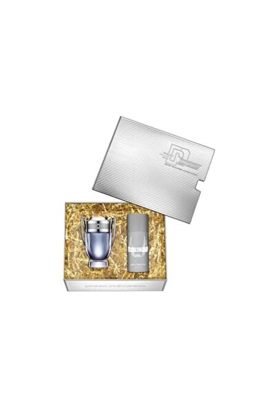 Paco Rabanne Invictus Edt 100 ml Erkek Parfüm 150 ml Deodorant Seti 3349668573011