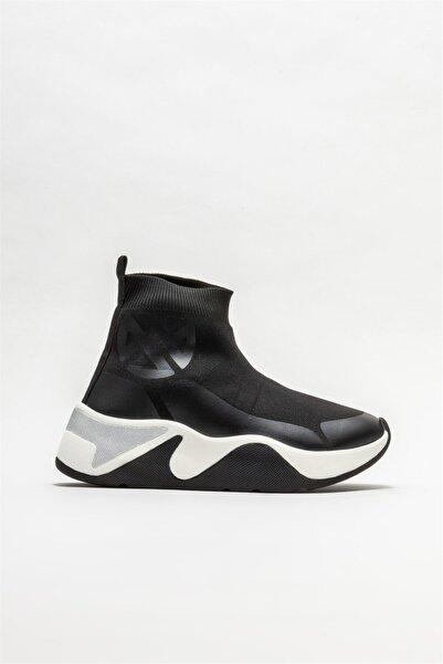 Elle Shoes Siyah Kadın Düz Bot