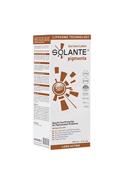 Solante Pigmenta Spf50+ Güneş Koruyucu Losyon 150ml | Leke Karşıtı Bakım