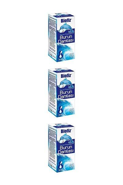Biofiz Serum Fizyolojik Damla 20 ml (3 Adet)