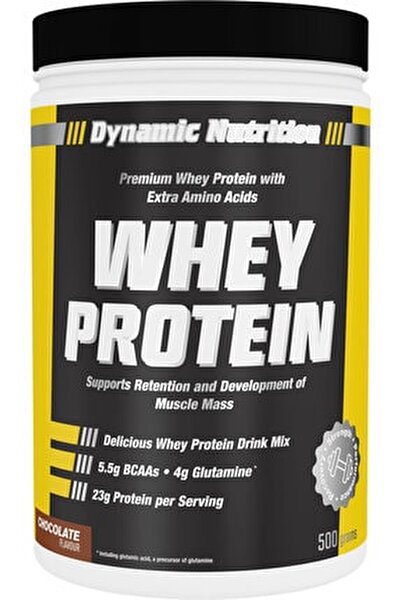 Dynamic Whey Protein Tozu 500 Gr (çikolata Aromalı)