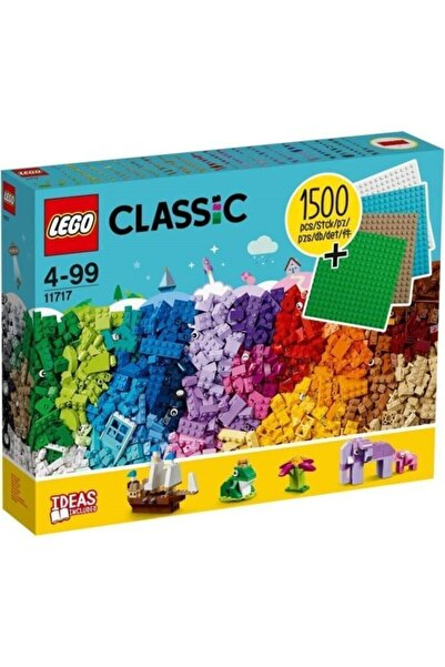 LEGO Classic 11717 Extra Large Brick Box + 4 Plates