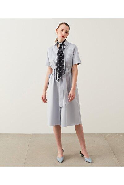 İpekyol Piliseli Gömlek Elbise
