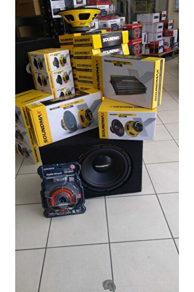 Soundmax Pro Ful Komple Set Bas Midrange Kablo Amfi Şok Kampanya