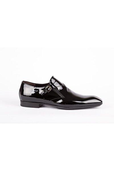 Cesare Paciotti Erkek Siyah Hakiki Deri Klasik Ayakkabı
