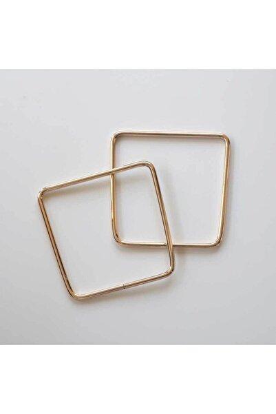 Ritzz Gold Kare Metal Çanta Sapı