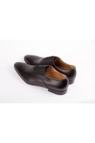 Gucci Erkek Siyah Hakiki Deri Klasik Ayakkabı