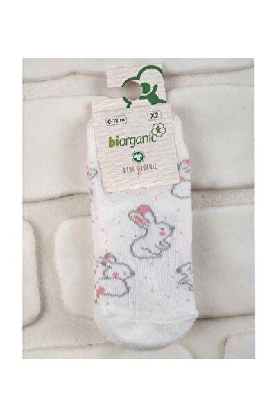 Biorganic 68237 Kız Bebek 2'li Çorap