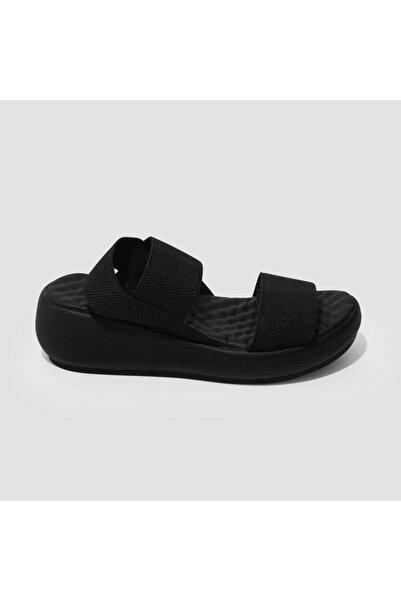 Jeep Kadın Siyah Trendy Sandalet (s) J0246 Zn