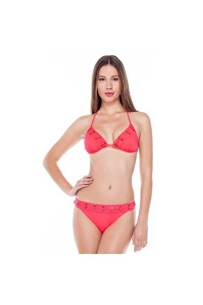 Sunset Mercan Rengi Üçgen Bikini