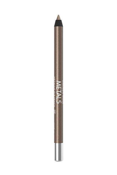 Golden Rose Metalik Göz Kalemi - Metals Metallic Eye Pencil No: 02