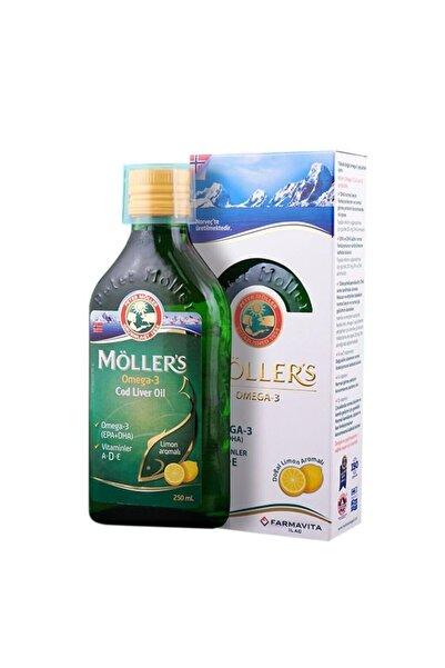 Mollers Möllers Omega-3 Limon Aromalı Balık Yağı 250 Ml Skt:11/2021