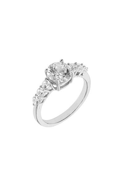 So CHIC... Beş Taş Creative Diamond Gümüş Yüzük Rose Gold