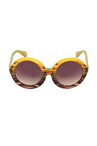 So CHIC... Kahverengi Degrade Camlı Güneş Gözlüğü