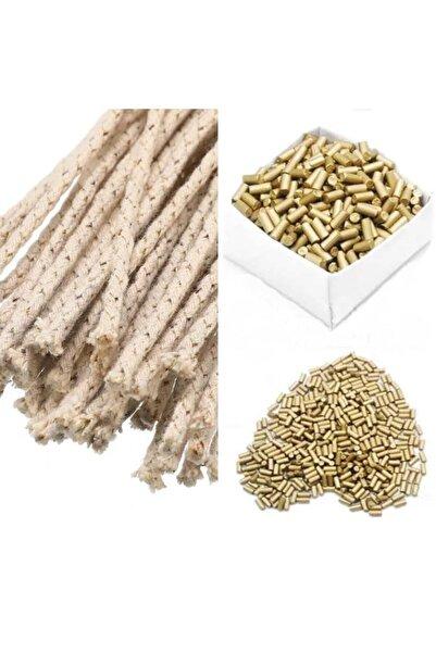 MOR SALKIM HOME Karbon Çakmak Taşı 2,2 mm*5,00 mm 40 Adet + 2 Fitil