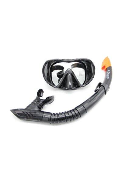BERMUDA Tempered Silikon Maske Şnorkel Set