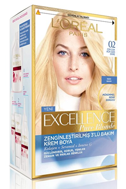Saç Boyası - Excellence Pure Blonde No: 02 Blonde Supreme 8690595357232