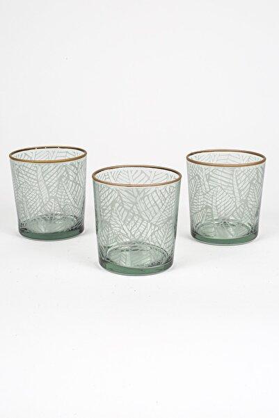 Rakle Exotic 3'lü Meşrubat Bardağı Seti_Yeşil  380 cc