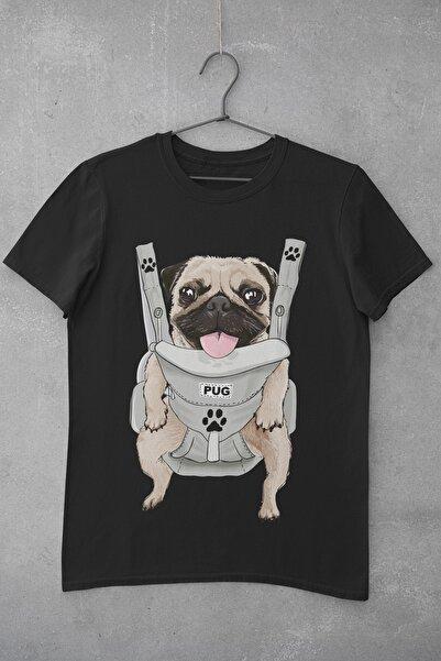 Tshigo Baby Pug Baskılı Kadın T-shirt
