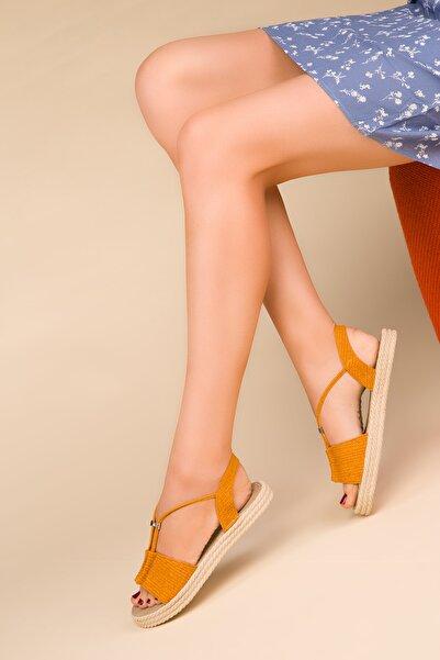 SOHO Sarı Kadın Sandalet 14661