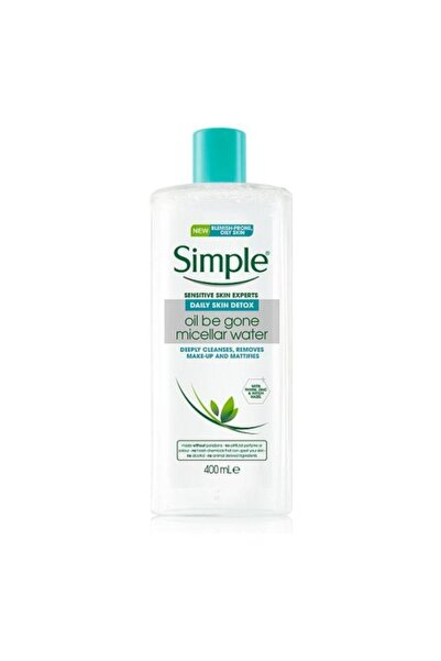 Simple Daily Skin Detox Micellar Makyaj Temizleme Suyu 400ml