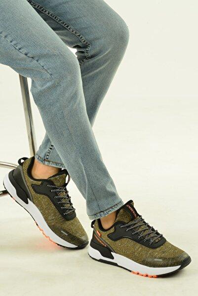 lumberjack Erkek Haki Perast Günlük Yürüyüş Koşu Spor Ayakkabı