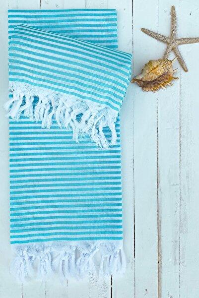 ZUGO HOME %100 Pamuklu Pretty Peştamal-plaj Havlusu 90*170