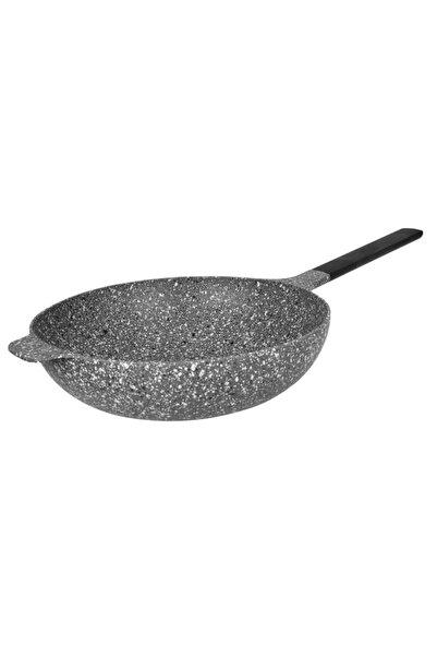 Perge Döküm 30 cm Wok Tava