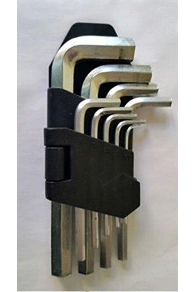 Q-Tools Qtools Allen Anahtar Takım Altı Köşeli 9 Parça Uzun Alyan