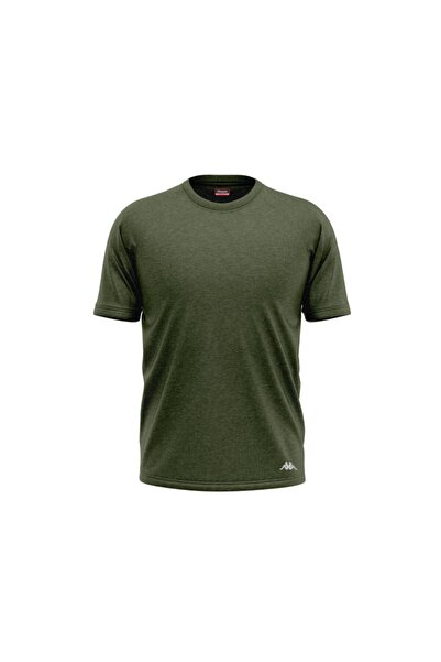 Kappa Ribana O Yakalı T-shirt Pılsen Yeşil