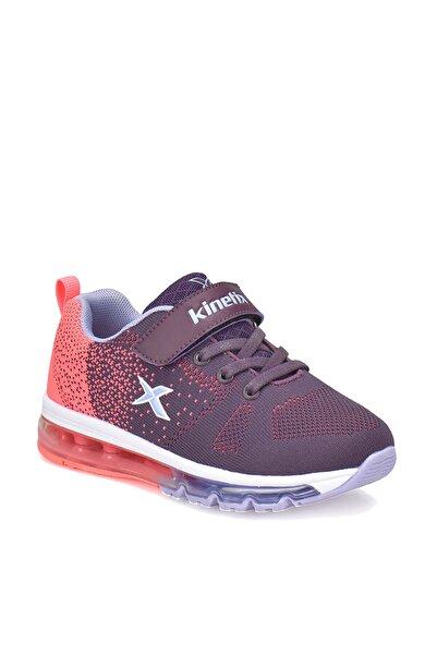 Kinetix Koyu Mor Neon Pembe Açık Mavi Kız Çocuk Koşu Ayakkabısı 000000000100294245