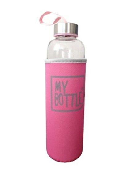 AYAZ TAKI My Bottle Renkli Kılıflı Cam Matara 600 Ml