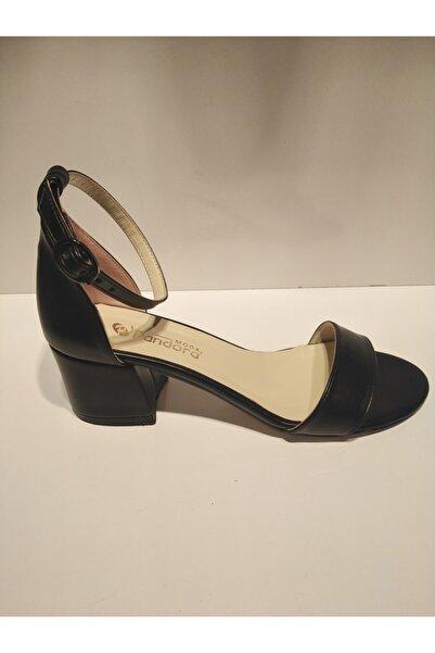Pandora Kadın Siyah Tekbant Günlük Ayakkabı Y20 Vr711