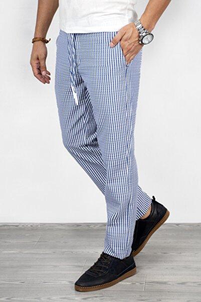 DeepSEA Mavi Çizgili Erkek Pantolon 2002651