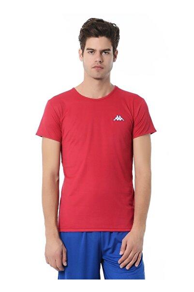 Kappa Erkek Fuşya O Yaka Logolu T-shirt