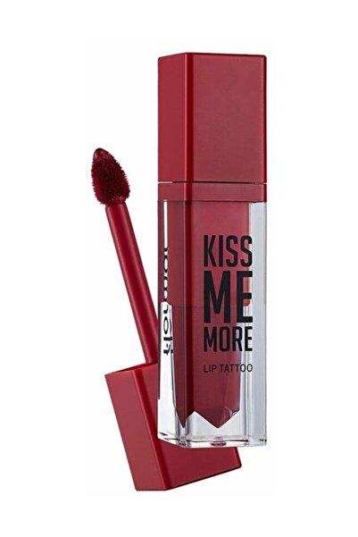 Flormar Kiss Me More Lip Tattoo Kırmızı Ruj 012 8690604572922
