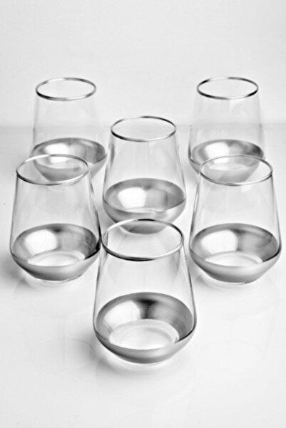 Olcay Home Gümüş 6 Kişilik Su Bardağı