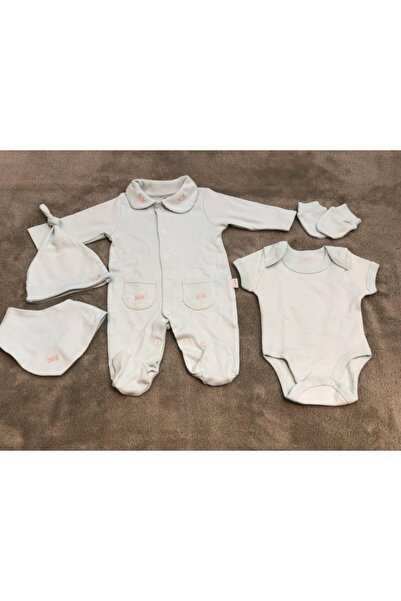 Pierre Cardin Baby Gri 6lı Hastane Çıkışı 300952