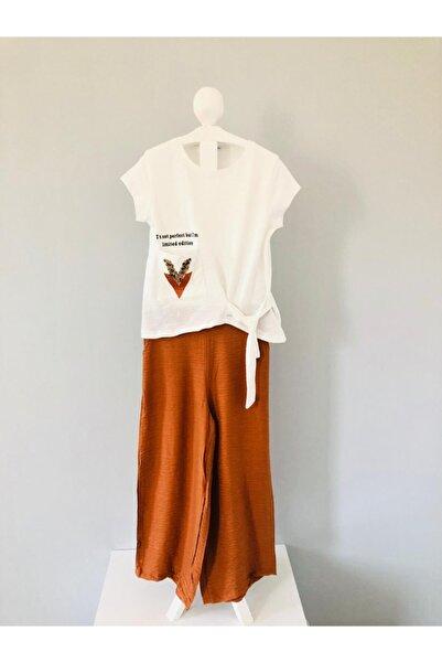 NK Kız Çocuk Bol Paça Pantolon