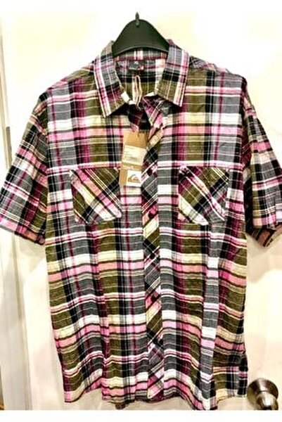 Erkek Kareli Quıksılver Gömlek