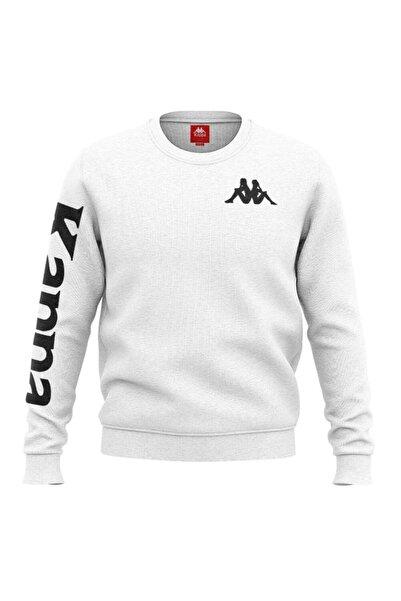 Kappa Baskılı Sw-shirt Casın Beyaz