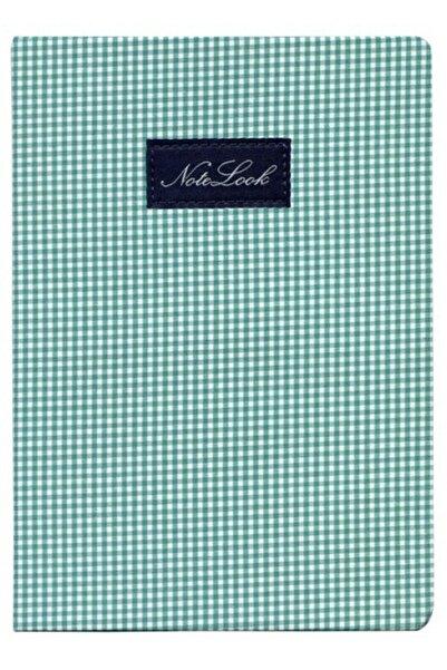 Scrikss Notelook Cotton A6 Yeşil Çizgili