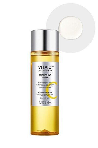 Missha C Vitamin İçerikli Leke Karşıtı&Aydınlatıcı Tonik-Vita C Plus Brightening Toner 8809643525169
