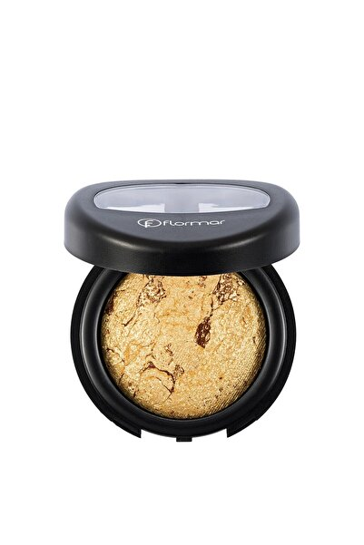 Flormar Göz Farı - Diamonds Terracotta Eyeshadow Golden Eyes 5 G 8690604083886