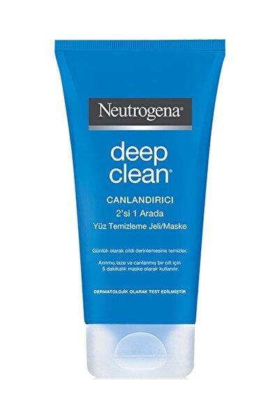 Neutrogena Deep Clean 2'Si 1 Arada Canlandırıcı Temizleme Jeli & Maske 150 ml 3574661214764
