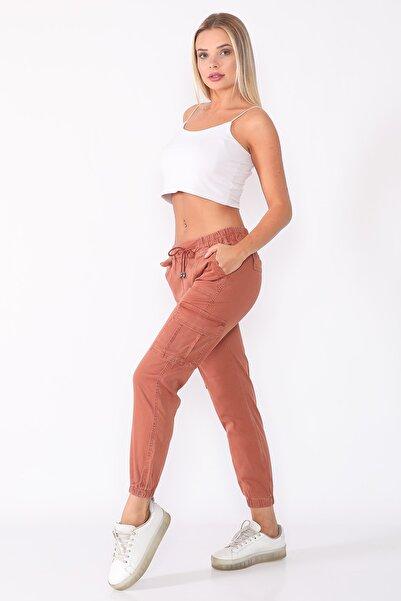 PodiumStar Kadın Bakır Kargo Pantolon