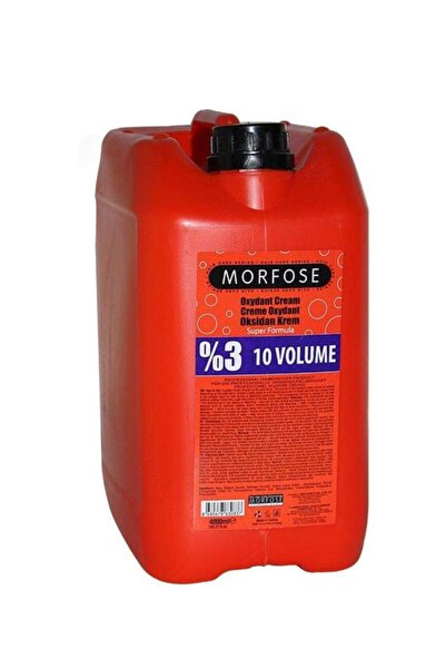 Morfose %3 10 Volume Oksidan Krem 4000 Ml