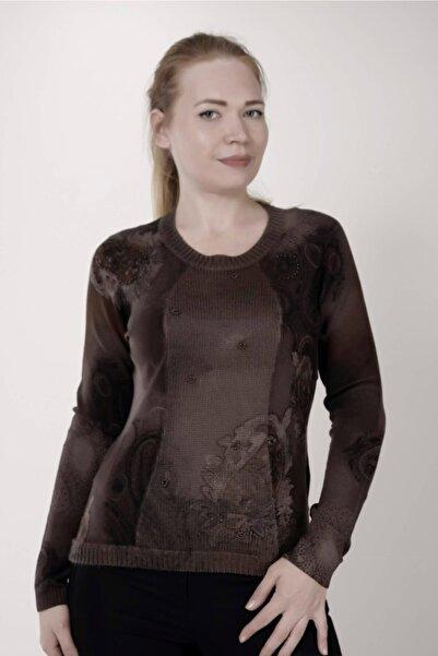 Sude Kadın Kahverengi Bluz 7609
