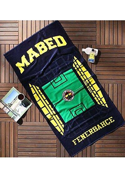 Taç Fenerbahçe Orjinal Mabed Plaj Havlusu 75x150